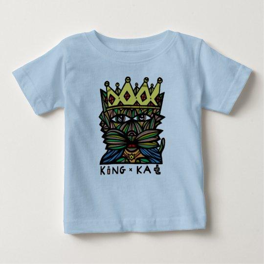 """Baby-T - Shirt """"König-Kat"""""""