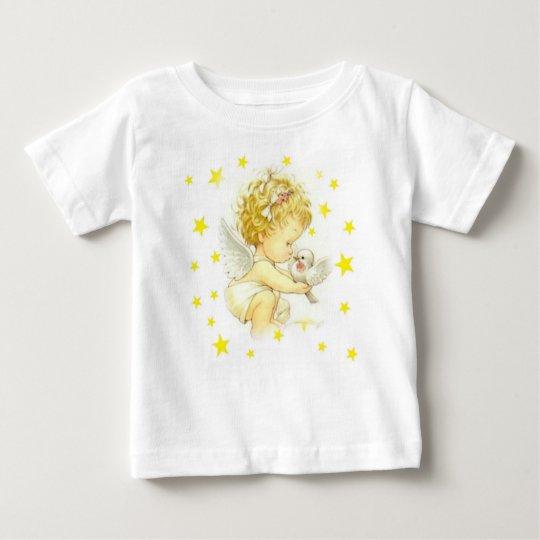 Baby-T - Shirt mit Engeln