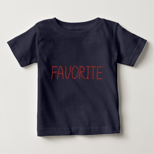 Baby-T - Shirt mit 'favorite