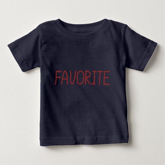 Baby-T - Shirt mit 'favorite