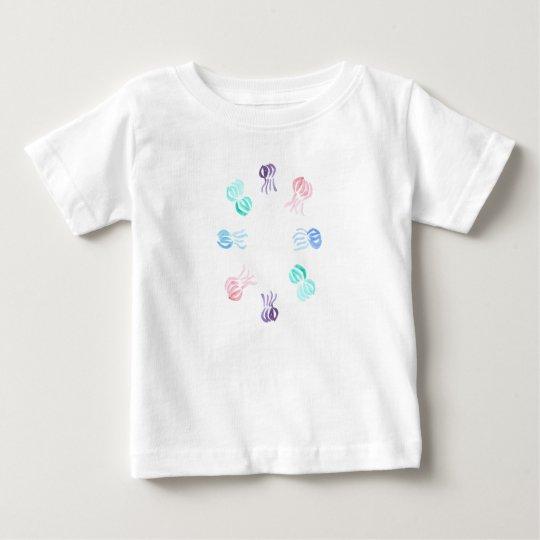 Baby-T - Shirt mit Quallen