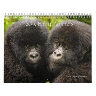 Baby-Tiere 2015 durch McDonald-Tier-Fotografie Abreißkalender