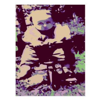 Baby Trike Postkarte