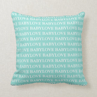 BABY u. Co blaues Tiffany Kissen