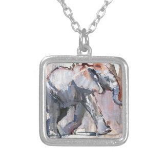 Babyelefant 2012 versilberte kette