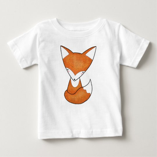 Babyfox-T - Shirtniedlicher Fox-Waldtier-T - Shirt