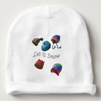 Babyhut, ließ es schneien babymütze