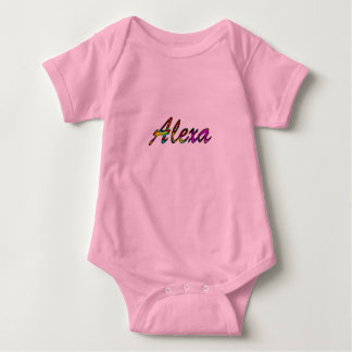 Babykleid für Alexa Baby Strampler