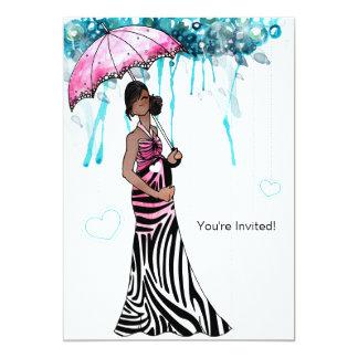 Babyparty 12,7 X 17,8 Cm Einladungskarte