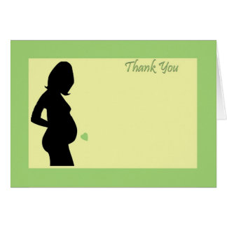 Babyparty danken Ihnen! Karte