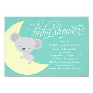 Babyparty der Schlafenmaus  laden ein 12,7 X 17,8 Cm Einladungskarte