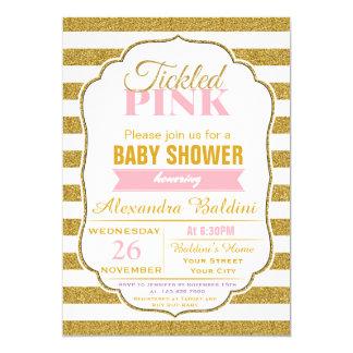 Babyparty-Einladung für ein Mädchen 12,7 X 17,8 Cm Einladungskarte