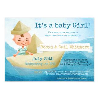 Babyparty-Einladungen, 12,7 X 17,8 Cm Einladungskarte