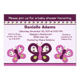 Babyparty-Einladungen der 12,7 X 17,8 Cm Einladungskarte