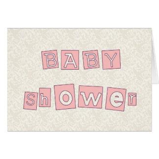 Babyparty Grußkarte
