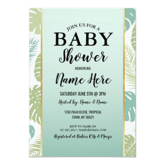 Babyparty-Mädchen-Jungen-Geschlecht decken die Karte