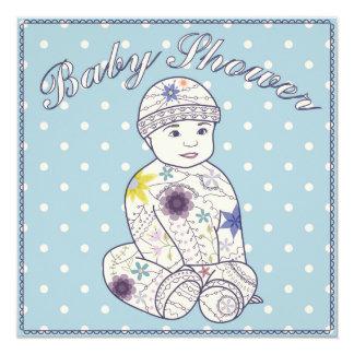 Babyparty mit Baby Karte