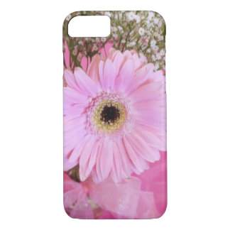 Babyrosagänseblümchen mit Blumen iPhone 7 Hülle