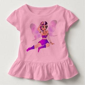 Babyrosakleid mit Rüschen Kleinkind T-shirt
