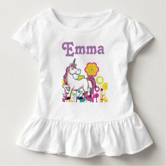 Babyrüschekleid Kleinkind T-shirt