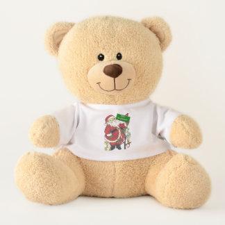 Babys 1. Weihnachtsweihnachtsmann-Baum-süße Tiere Teddy