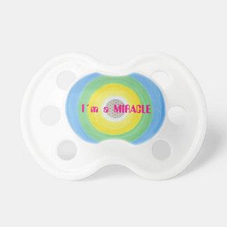 """Babyschnuller """"I´m a MIRACLE"""" Schnuller"""