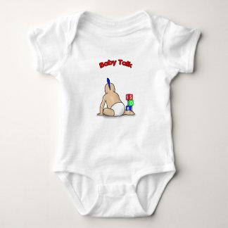 Babysprache Baby Strampler