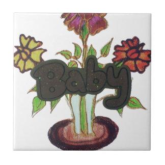 Babytext, der plant.png versteckt kleine quadratische fliese