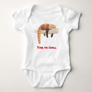 Babyweste des roten Pandas Baby Strampler