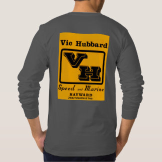 BACC Vic Hubbard lange Hülse dunkelgrau T-Shirt