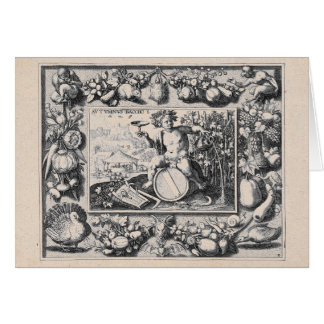 Bacchus/Dionysus Gott des Weins Karte