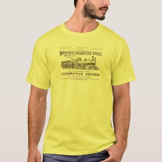 Bach-Dampf-Lokomotive bearbeitet 1890 T-Shirt