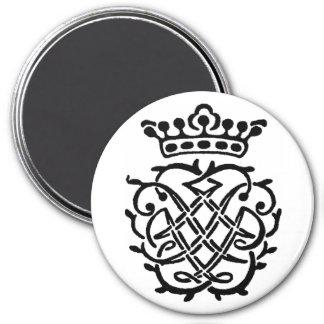 Bach Insignien Runder Magnet 7,6 Cm