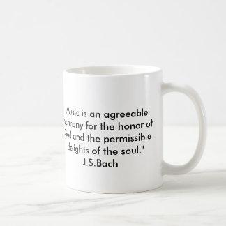 Bach Zitat Kaffeetasse