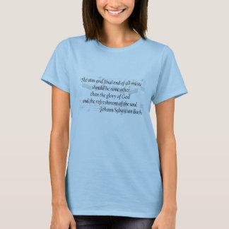 Bach Zitat-T - Shirt
