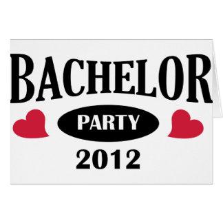 Bachelor Party Grußkarte