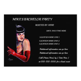 Bachelor Party Karte