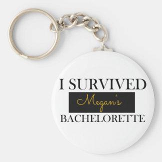 Bachelorette Bevorzugungs-Gewohnheit Keychain Schlüsselanhänger