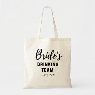 Bachelorette das Team der Braut trinkende Tragetasche