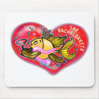 Bachelorette Henne-Party-Fische Mousepad