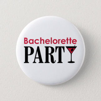 Bachelorette Party Runder Button 5,1 Cm
