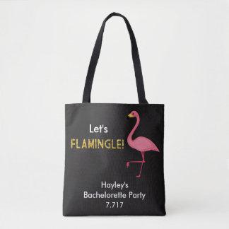 Bachelorette Tasche ließ uns Flamingle!