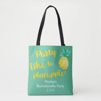 Bachelorette Taschen-Party mögen eine Ananas! Tasche