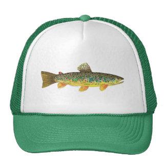 Bachforelle-Fischen Baseballmützen