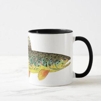 Bachforelle-Fischen Tasse