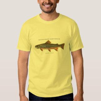 Bachforelle-Fischen Tshirt