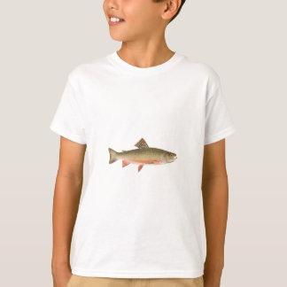Bachforelle-Kunst T-Shirt