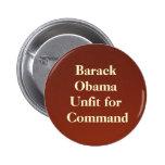 backdropapplication, Barack ObamaUnfit für Befehl Button