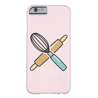 Backen-Liebhaber-Telefon-Kasten Barely There iPhone 6 Hülle