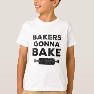 Bäcker, die gehen, Shirt zu backen